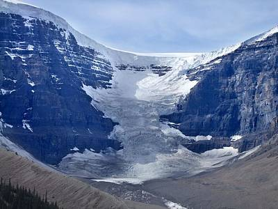 Photograph - Athabasca Glacier by George Cousins