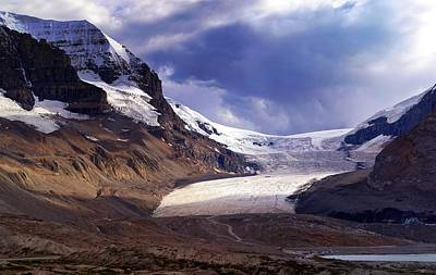 Photograph - Athabasca Glacier by Heather Vopni