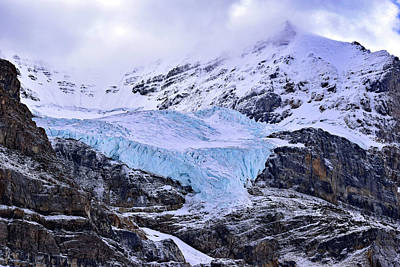 Photograph - Athabasca Glacier No. 9-1 by Sandy Taylor