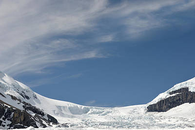 Photograph - Athabasca Glacier Vista by Ginny Barklow