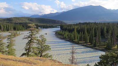 Photograph - Athabasca River - Jasper by Hagen Pflueger