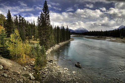 Photograph - Athabasca River by John Gilbert