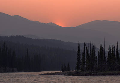 Nature Conservation Photograph - Athabasca River Layers by Cale Best