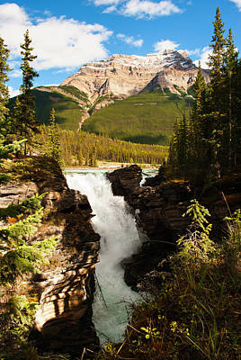 Photograph - Athabasca Waterfalls I by Yuri Santin