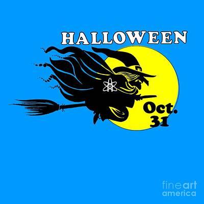 Studio Grafika Patterns - Atheist Halloween Witch by Frederick Holiday
