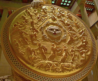Photograph - Athena's Mighty Shield by Denise Mazzocco