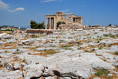 Photograph - Athenian Ruins by Robert Moss