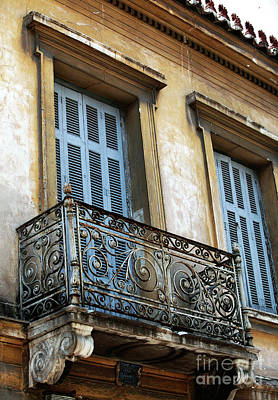 Photograph - Athens Balcony by John Rizzuto
