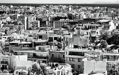 Photograph - Athens Cityscape I by John Rizzuto