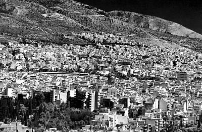 Athens Cityscape Vi Art Print