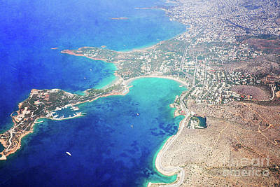 Photograph - Athens From Above by Hannes Cmarits