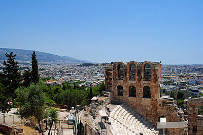 Photograph - Athens by Robert Moss
