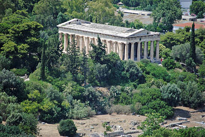 Photograph - Athens Ruins by Robert Moss
