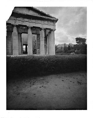 Athens Temple Of Ephesus Art Print by Luca Baldassari