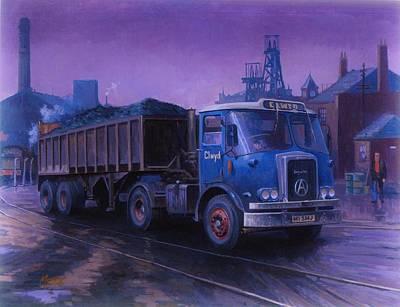 Atkinson Bulk Coal Tipper Print by Mike  Jeffries