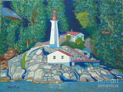 Atkinson Point Lighthouse Art Print by Rae  Smith  PSC