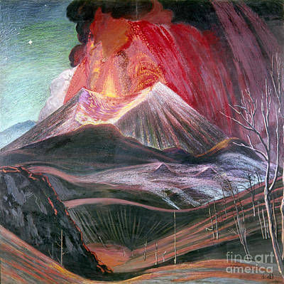 Photograph - Atl: Volcano, 1943 by Granger