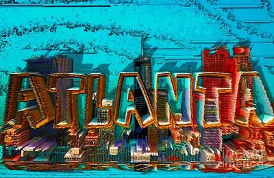 Atlanta 2016 By Nico Bielow Art Print