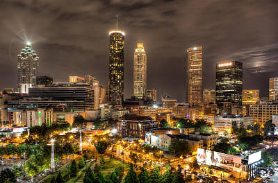 Photograph - Atlanta by Anna Rumiantseva