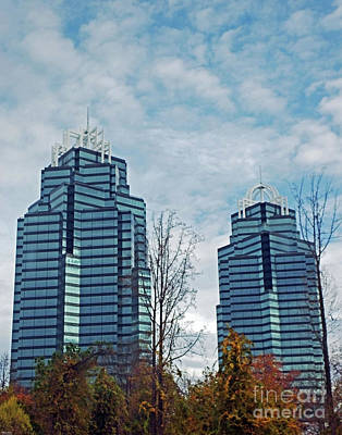 Photograph - Atlanta Architecture 14 King And Queen by Lizi Beard-Ward