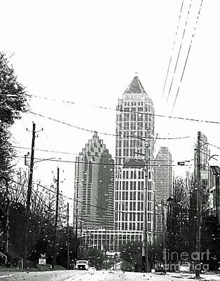 Photograph - Atlanta Architecture 4 by Lizi Beard-Ward