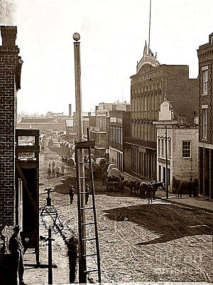 Photograph - Atlanta - Before General Sherman Burned City To The Ground During The Civil War by Merton Allen