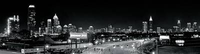 Atlanta Black And White Panorama Original by Frozen in Time Fine Art Photography