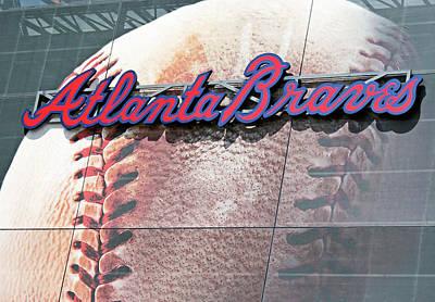 Art Print featuring the photograph Atlanta Braves by Kristin Elmquist