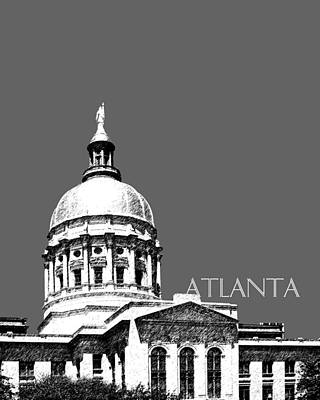 Digital Art - Atlanta Capital by DB Artist