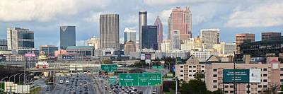 Photograph - Atlanta Daytime Panoramic by Frozen in Time Fine Art Photography
