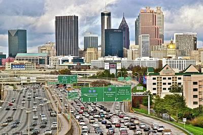 Photograph - Atlanta Dead Ahead by Frozen in Time Fine Art Photography