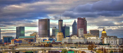 Photograph - Atlanta Downtown Skyline Cityscape Art by Reid Callaway