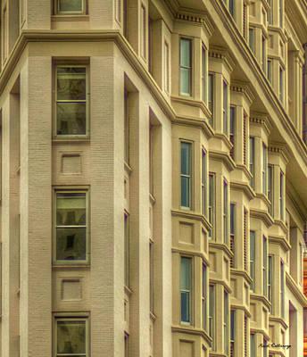 Photograph - Atlanta Flatiron Architecture 101 Art by Reid Callaway