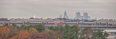 Photograph - Atlanta by John Black