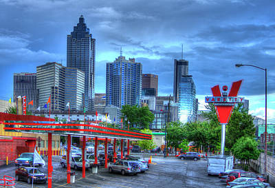 Photograph - Atlanta Landmark The Varsity Art by Reid Callaway