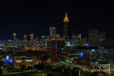 Atlanta Nights Art Print