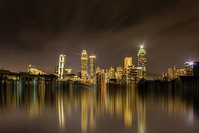 Photograph - Atlanta Reflection by Kenny Thomas