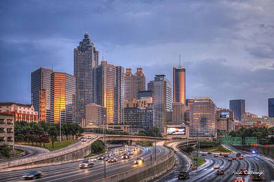 Photograph - Atlanta Reflections by Reid Callaway
