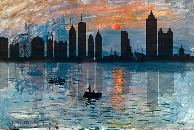 Photograph - Atlanta Skyline 1 by Andrew Fare