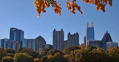 Photograph - Atlanta Skyline by Christopher James