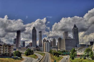 Corky Willis And Associates Atlanta Photograph - Atlanta Skyline by Corky Willis Atlanta Photography