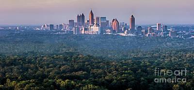 Atlanta Skyline Art Print