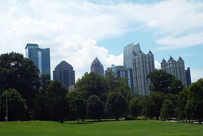 Photograph - Atlanta Skyline by Jake Hartz