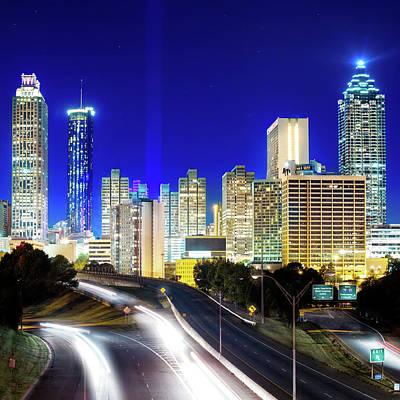 Photograph - Atlanta Skyline by Mark Andrew Thomas