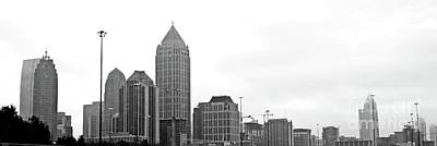 Photograph - Atlanta Skyline Panarama by Lizi Beard-Ward