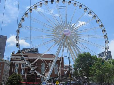 Photograph - Atlanta Wheel by Aaron Martens