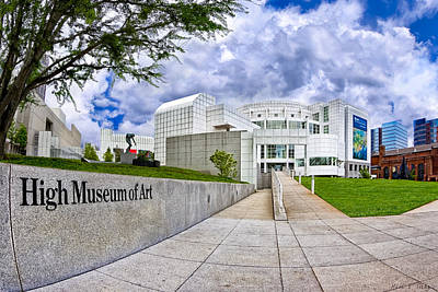 Art Print featuring the photograph Atlanta's High Museum by Mark E Tisdale