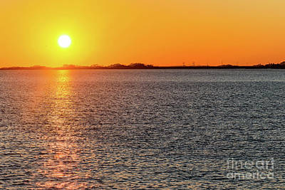 Photograph - atlantic, autumn, background, beach, beautiful, Calibogue, Carolina, coast, coastal, coastline, day, by Thomas Marchessault
