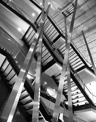 Photograph - Atlantic Avenue Arts Block Building by David Pantuso