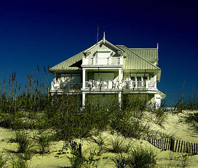 Photograph - Atlantic Beach House by James C Thomas